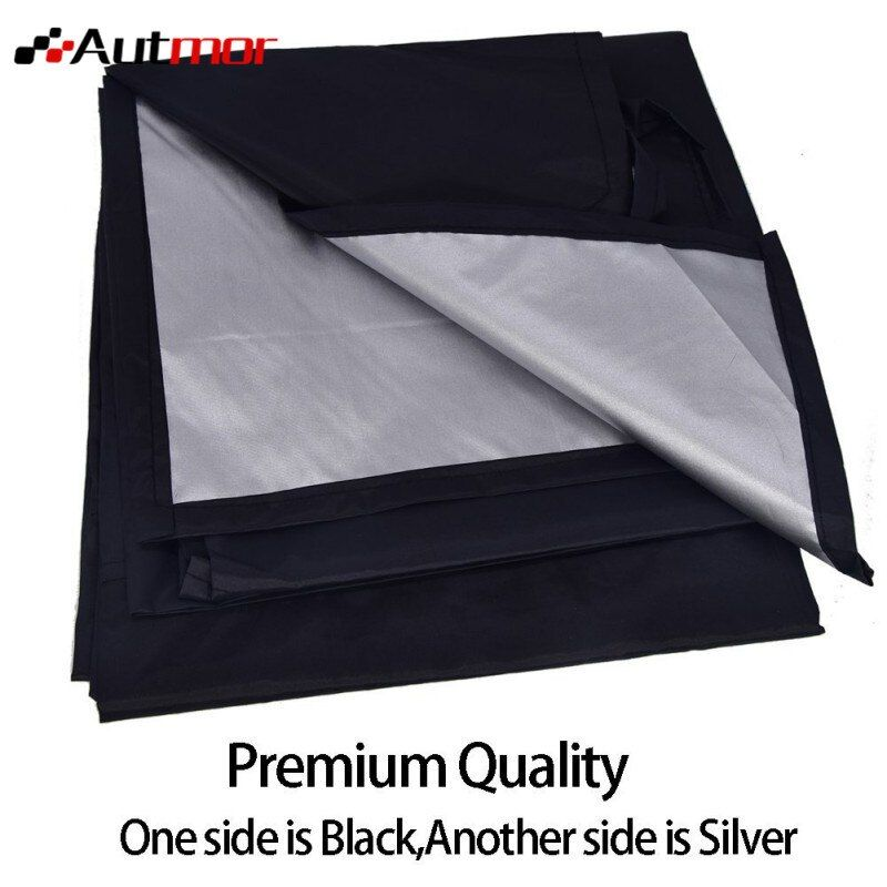 210*120cm Car Truck Magnet Windshield Windscreen Cover Sun Snow Ice Frost Protector Sticker Supplies in stock for dropping ship