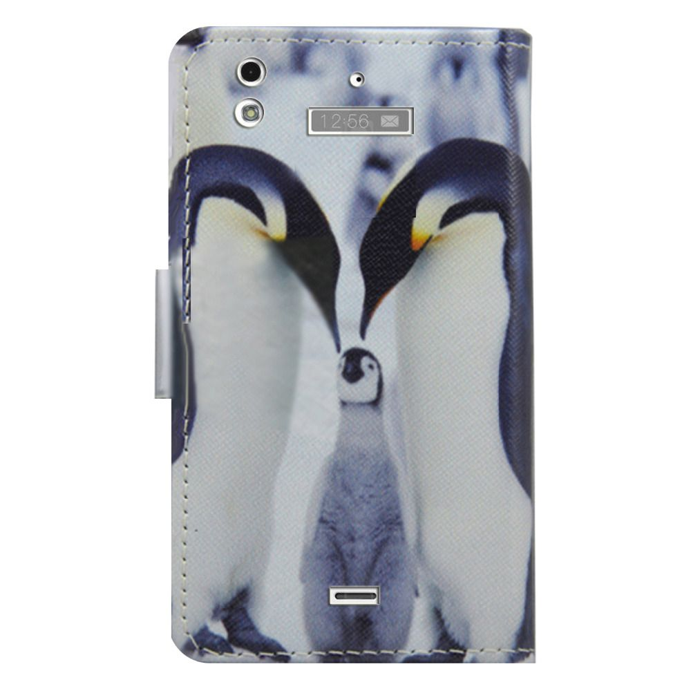 For Highscreen ice 2 Wallet Card slot deluxe PU leather cartoon cute Cover + mini stylus