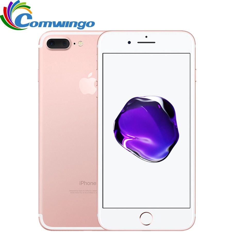 Original Apple iPhone 7 Plus Quad-Core 5.5 inch 3GB RAM 32/128GB/256GB IOS LTE 12.0MP Camera iPhone7 Plus Fingerprint Phone