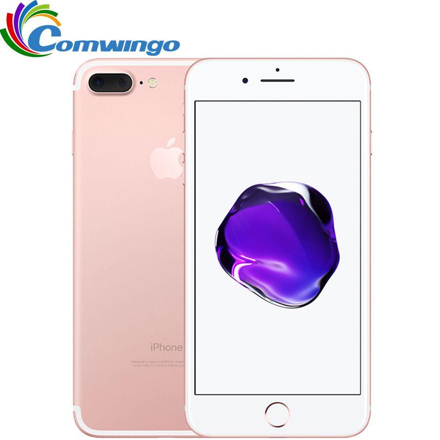 Original Apple iPhone 7 Plus Quad-Core 5,5 zoll 3 GB RAM 32/128 GB/256 GB IOS LTE 12.0MP Kamera iPhone7 Plus Fingerabdruck Telefon