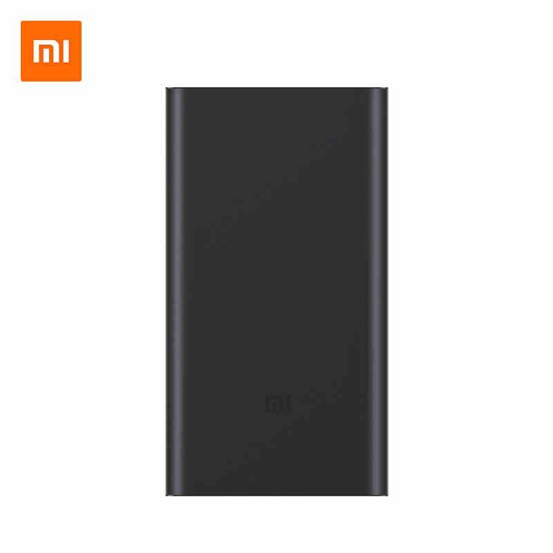 Original Xiao mi 10000 mAh Baterías portátiles 2 carga rápida 10000 mAh powerbank 2nd batería externa delgada para iphone samsung