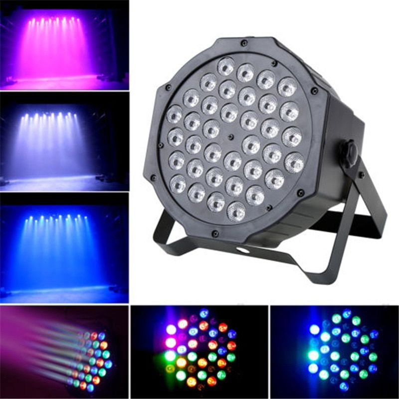 Professional LED Crystal Magic Ball Par 36 RGB LED DMX Stage Light Effect Bar Lighting Show Strobe for DJ Disco Party KTV