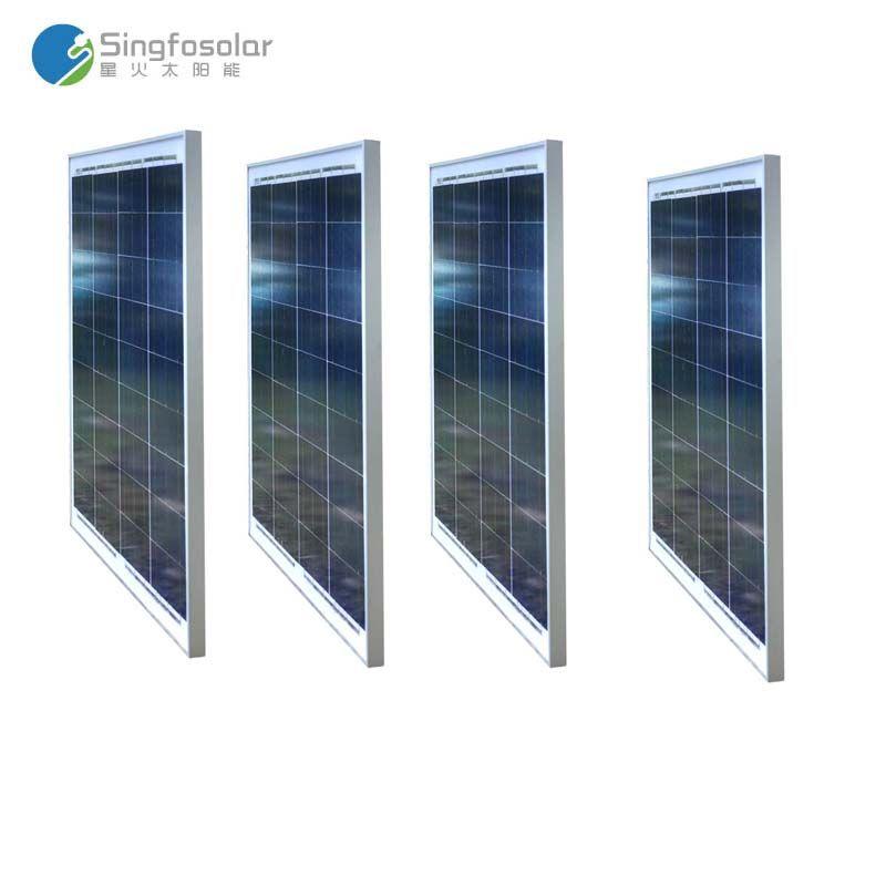 Solar Panel 12v 50w 4 Pcs Panneaux Solaires 48v 200w Solar Home System Batterie Camping Car Marine Mobile Phone Roof Voiture