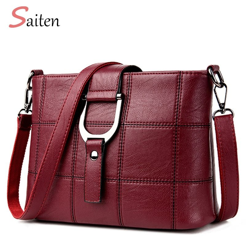 Luxury Women Messenger Bags Designer Woman Bag 2017 Brand Leather Shoulder Bags Tote Bag sac a main femme nouvelle collection