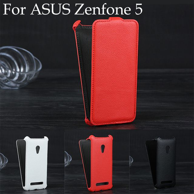 High Quality New Factory Direct Outlet Case for ASUS ZenFone 5 A501CG A500kl Lichee Pattern flip leather cover Mobile Phone Bags