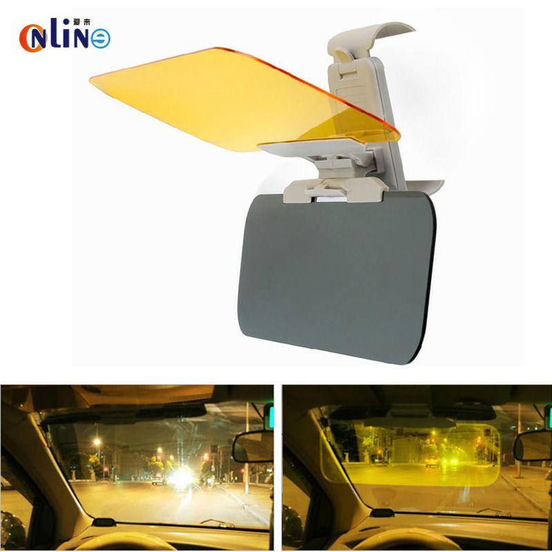 New Suspending and folding car mirror HD Car Sun Visor and HD Anti-dazzle anti Glare night vision drving Mirror