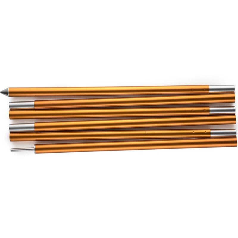 2 pack High Quality Outdoor Ultralight 7075 Aluminium Alloy Sun Shelter Support Rod Pole tarp poles