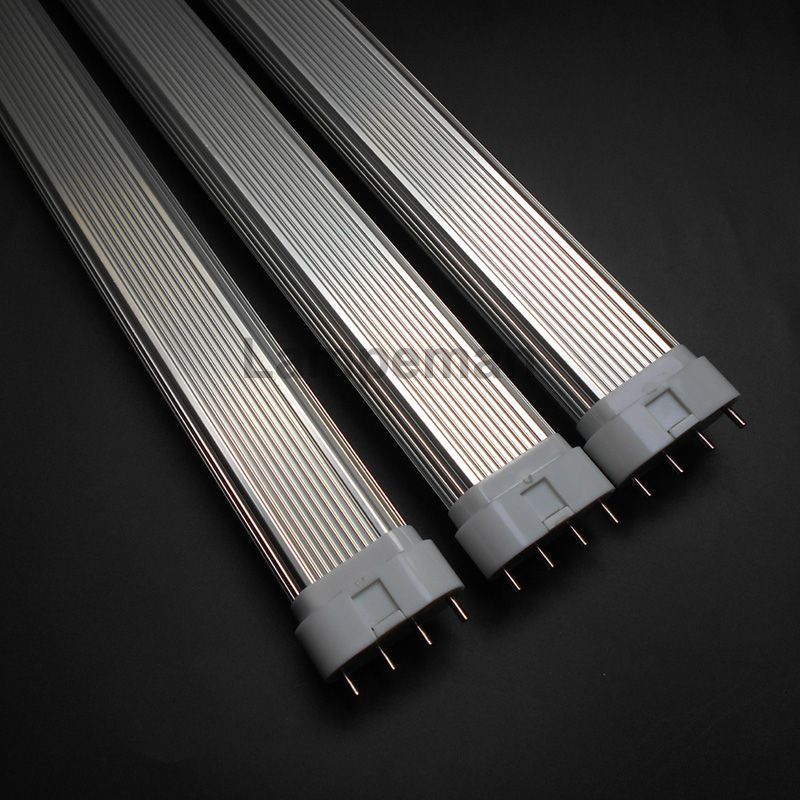 LED 2g11 tubo 4pin linestra PL lámpara 220 V dimmable blanco lechoso 10 W 225mm 12 W 320mm 15 W 410mm 22 W 535mm reemplazar halógeno AC85-265V
