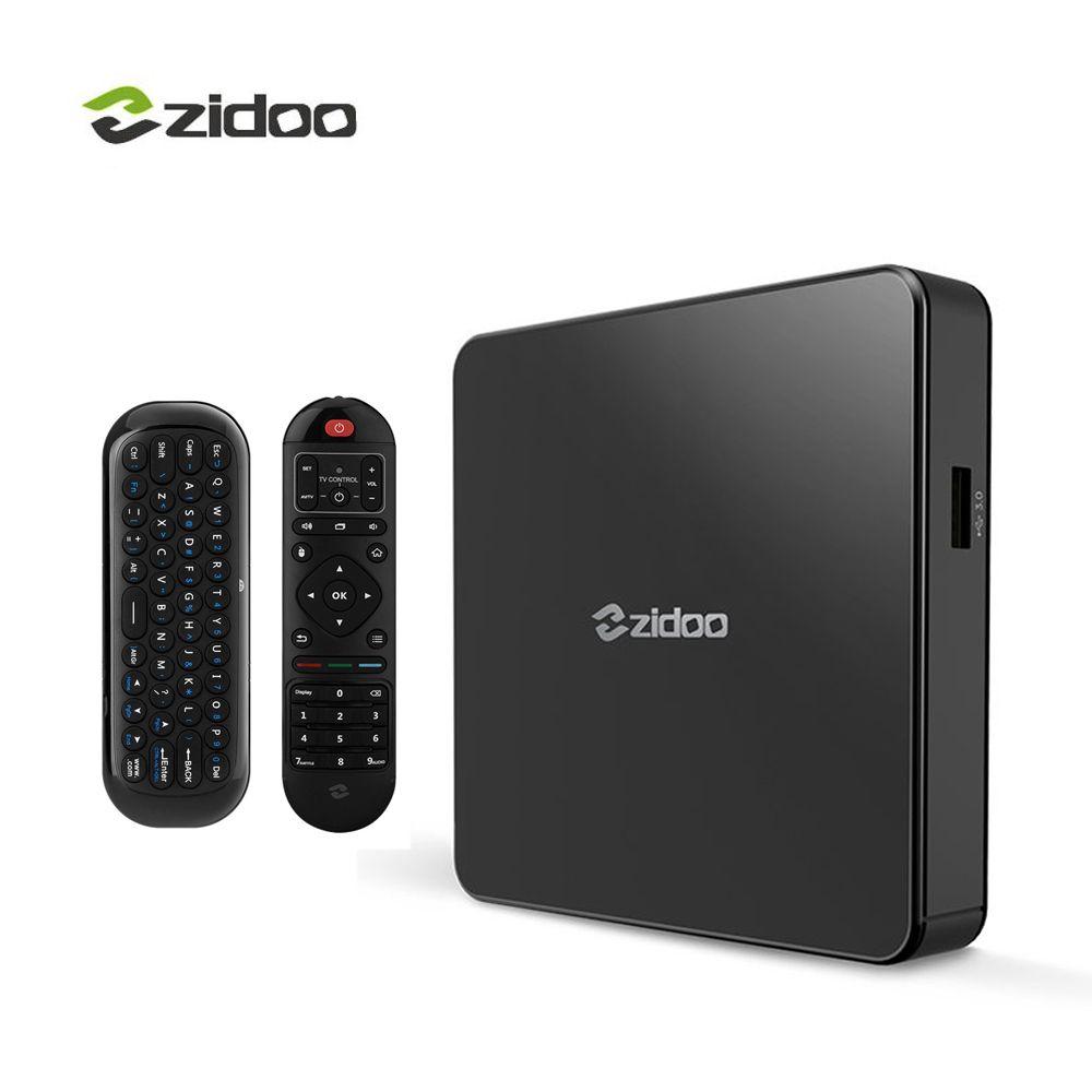 Zidoo X7 TV Box 4K Android 7.1 Bluetooth4.1 4K*60fps IPTV Media Player Quad-core 2GB DDR3+8GB eMMC WIFI HDMI Smart Set-top Box