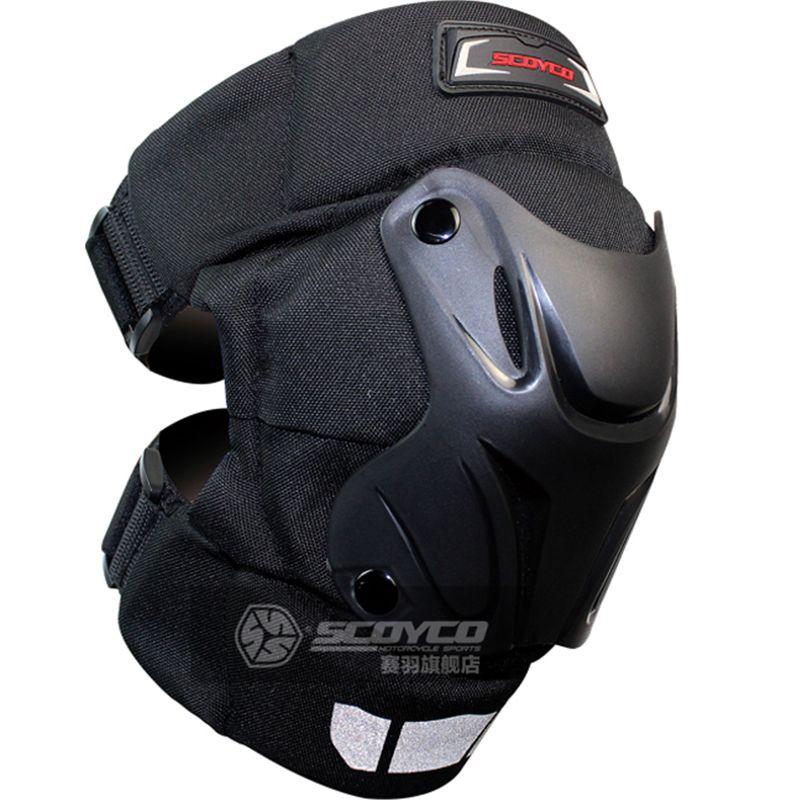 Motorcycle kneepad scoyco two-piece knee pads K15-2 reflective knee guard pair knee protector motocross protective gear