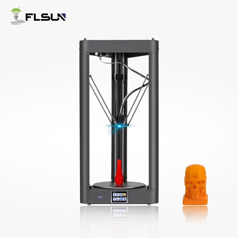 Flsun-QQ 3d Printer Large Size Pre-assembly Auto-level flsun 3d Printer Metal Frame Hot Bed Touch Screen Wifi
