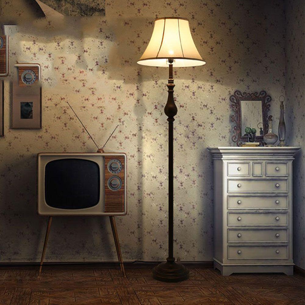 New Floor Lamps Vintage Luxurious Bedroom Design Led Bulb Lamp E27 110V-220V Modern Floor Lamp for Living Room Standing Lamp