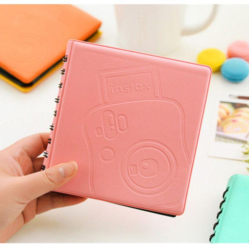 68 poches Mini Instantanée Polaroid Photo Album Photo Cas pour Fujifilm Instax Mini Film 7 s 8 25 50 s 90 instax mini Polaroid album