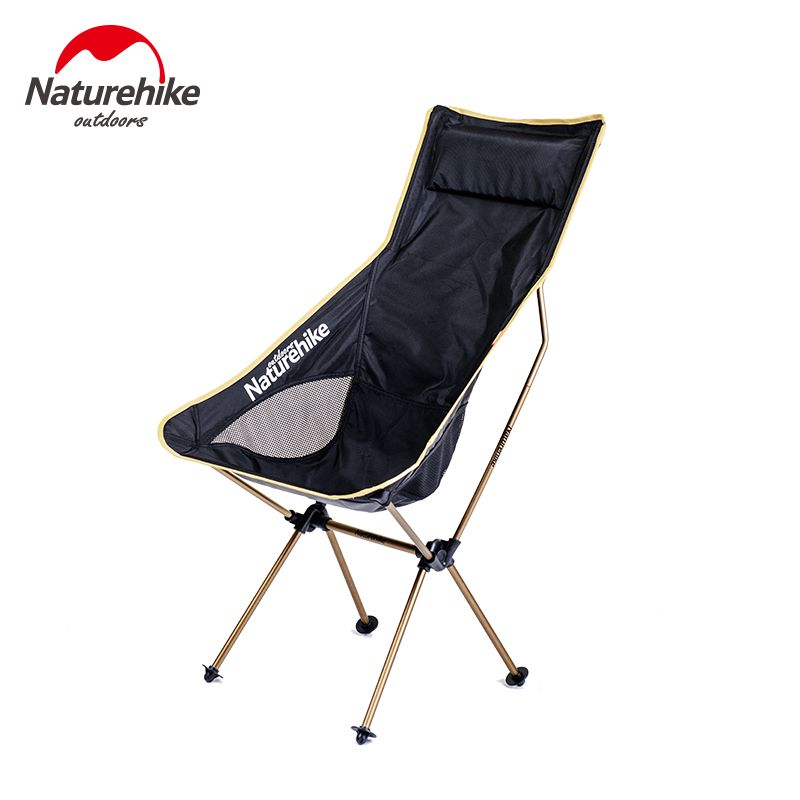 Brand NatureHike New upgrade Fishing Chair Portable folding Chair Camping Hiking Gardening Barbecue backrest chair Folding Stool