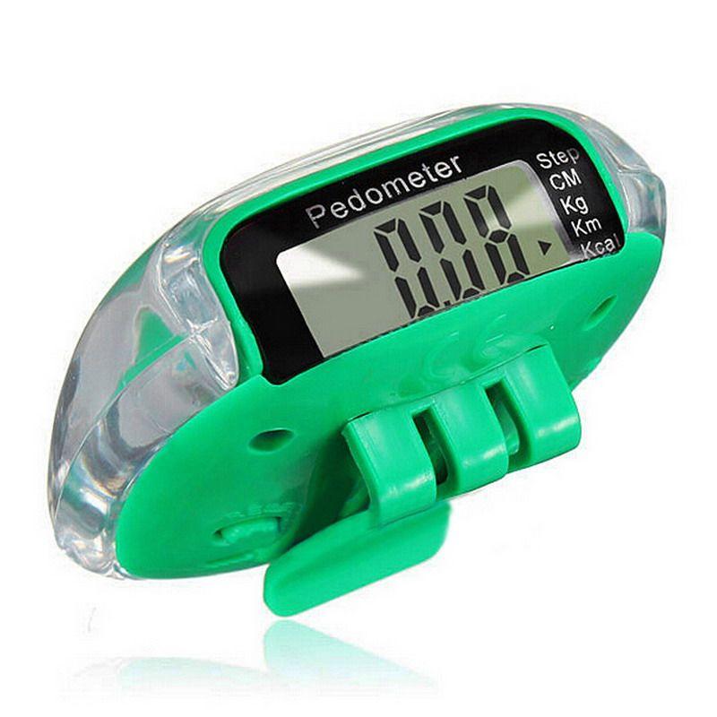 LCD Multifunktions Schrittzähler Walking Schrittzähler Kalorien Berechnung Zählen Gesundheit Überwachung