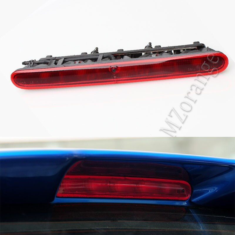 High quality Additional Rear Third Brake red Light Stop Lamp High Positioned Mounted For Peugeot 206 207 Citroen C2 car styling