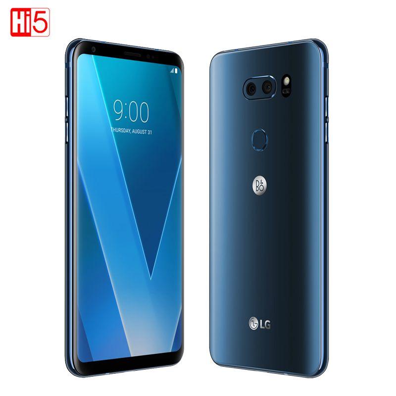 Entsperrt LG V30 plus handy V30 + 4 GB RAM 128 GB ROM Octa-core Dual Sim 6,0 ''13MP & 16MP Kamera 4G LTE SmartPhone 3300 mAh