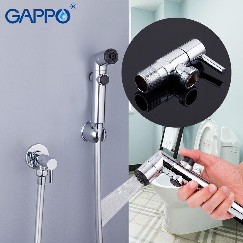 GAPPO Bidets de poche bidet pulvérisation bidet portable toilette douche bidet toilette rondelle mitigeur montage mural pulvérisateur robinet