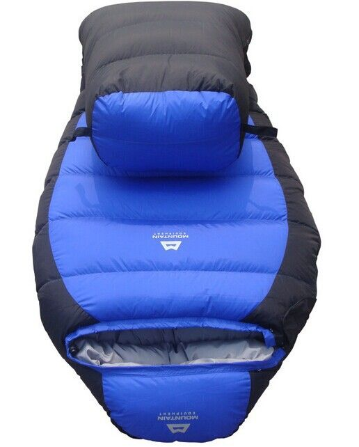 -25 Degree Sleeping Bag Mummy Bag 2.3 KG White Dock Down Winter Thickening Bag  arrive to russian in 18-35 days