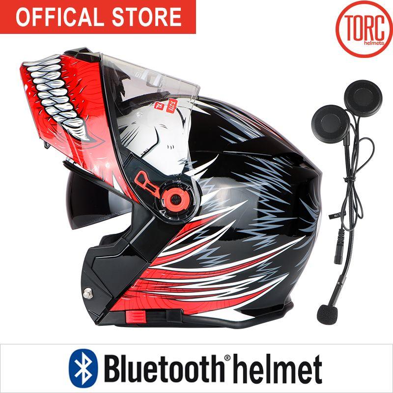Bluetooth Motorrad helm KLAPPHELM motorrad motorcross Verbinden Telefon Unterstützung anruf capacete cascos para moto helm T271
