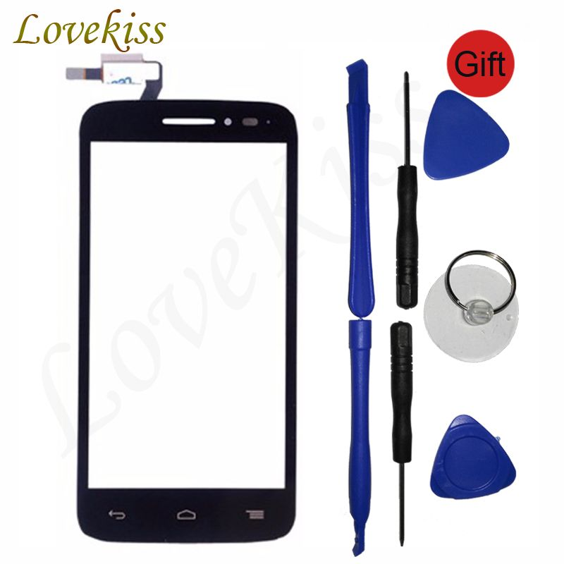 Touchscreen For Alcatel One Touch POP 2 Pop2 M5 4.5 OT 5042 5042D OT5042 Touch Screen Sensor Panel Digitizer LCD Display Glass