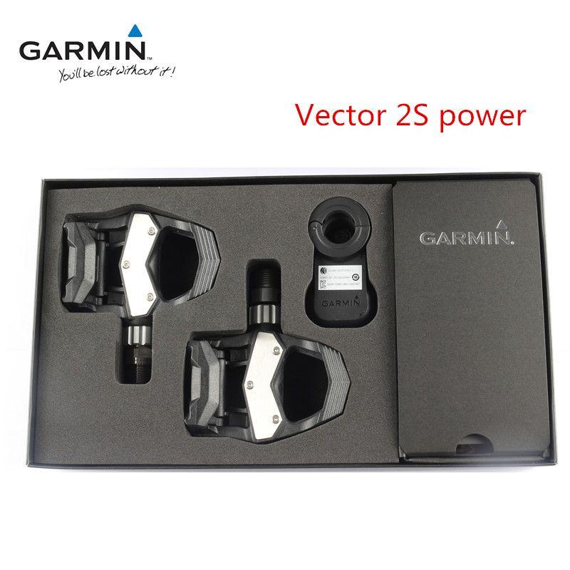 Garmin Vector 2 s Einzel-sensing Power Bike Fahrrad Radfahren Pedale NIB Garmin Power Meter Peda