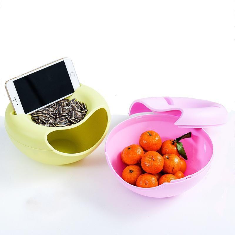 Creative Nuts salon graines de Melon bonbons plaque fruits secs boîtes de rangement fruits plaque organisateur pour loisirs support pour téléphone