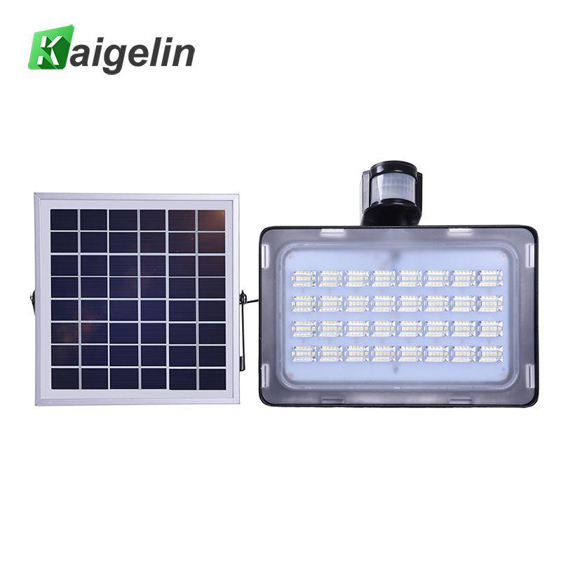 Modern 10W/20W/30W/50W Solar Power PIR Motion Sensor Induction Sense LED Flood Light Solar Lamp Waterproof Solar LED Floodlight