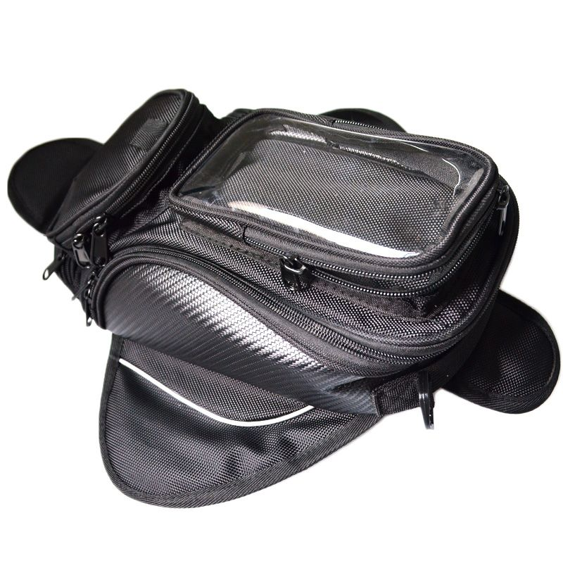 Motorcycle tank bag motorbike Waterproof black nylon bags