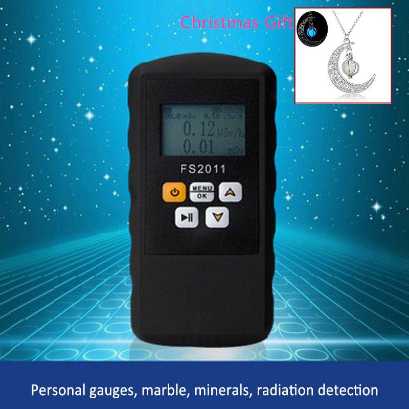 Rayonnement Compteur Geiger Détecteur Nucléaire Bêta Gamma X-ray avec Alarme Marbre Testeur Outil LCD Affichage Détecteur Radioactifs