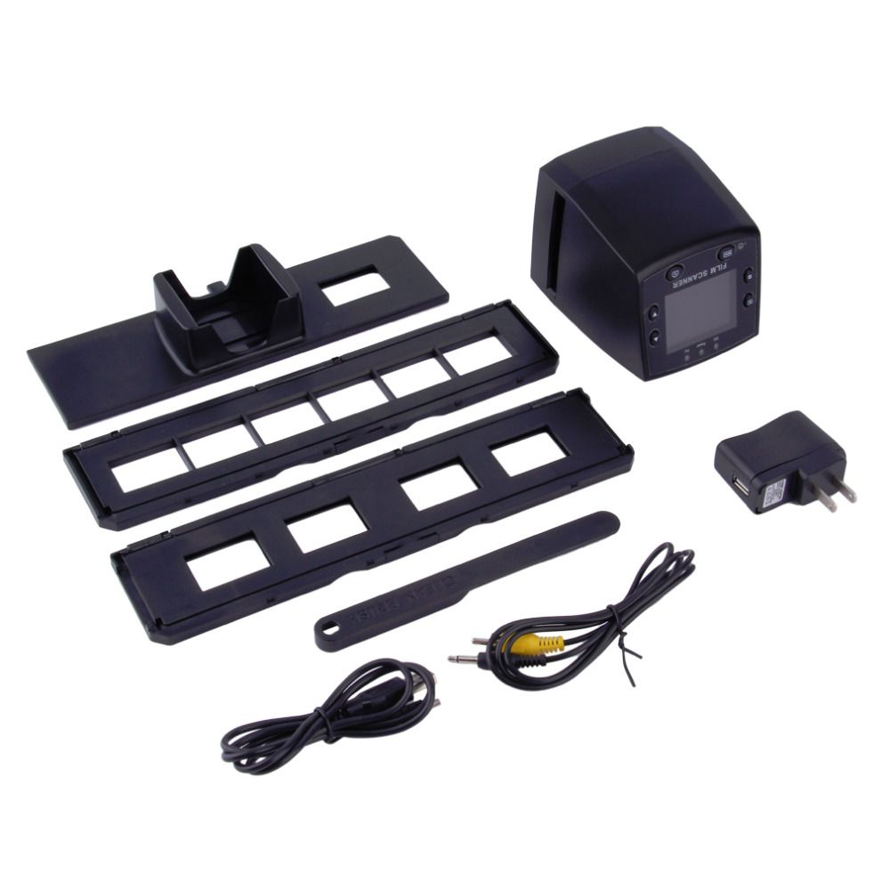 New 5MP 35mm Negative Film Slide VIEWER Scanner USB Color Photo Copier Wholesale Drop Shipping