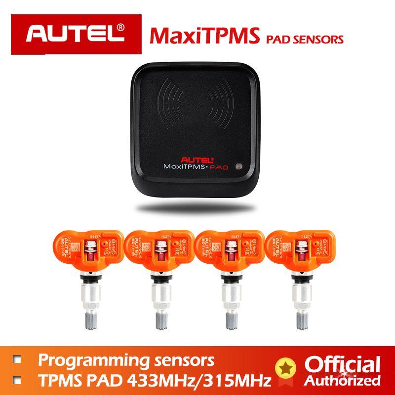 4 teile/los Autel Reifen Druck ersatz OE Mx Sensor 315 mhz 433 mhz Reifen Druck Sensor 315 433 programmierbare universal