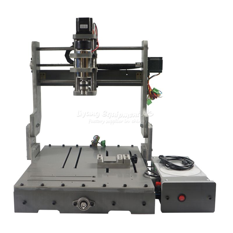 China fabrik liefern beste cnc maschine 3040 3 achse pcb gravur holz router 300 w USBport