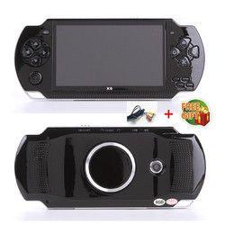 Бесплатная доставка Ручной игровой консоли 4,3 дюймов экран mp4 плеер MP5 игры реальный 8 ГБ поддержка для psp игры, камера, видео, электронная кни...