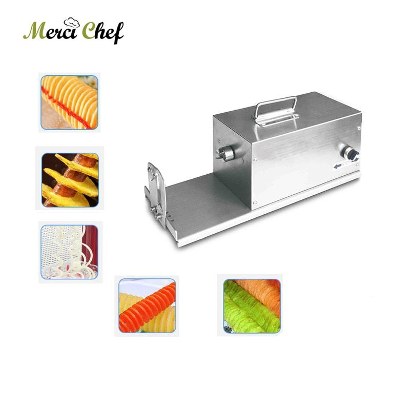 ITOP Electric Potato Twister Tornado Slicer Machine Automatic Spiral Cutter Vegetable slicer twister machine supplier 110/220v