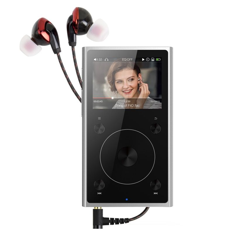 Portable Hi-Res Music Player FiiO X1II with Earphone F3,MP3 Player FiiO X1 II with Earphone F3,Music Player X1II,FiiO X1