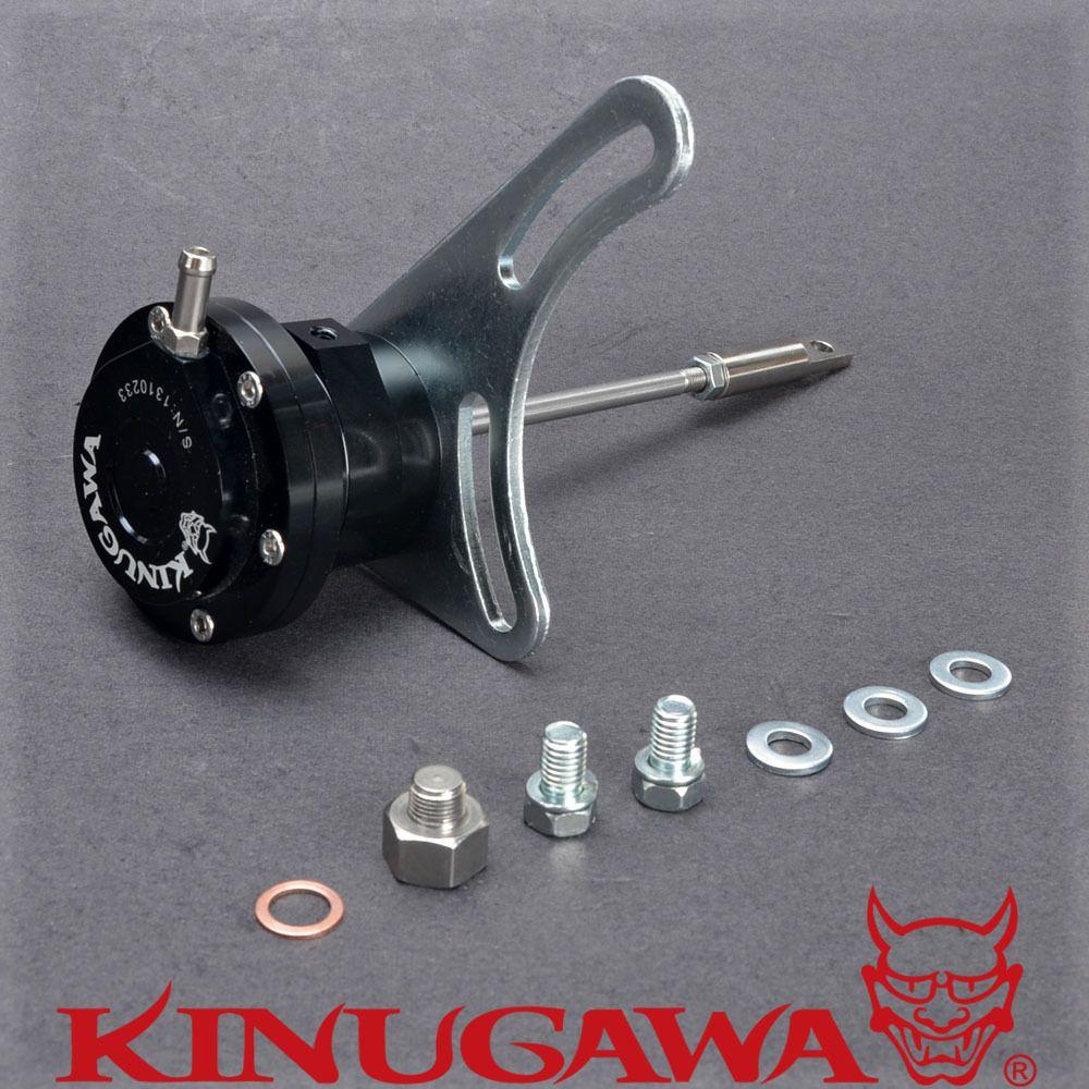 Kinugawa Einstellbare Turbo Wastegate für TOYOTA CT26 12HT HJ61 4.0L Diesel 1,0 bar/14,7 Psi