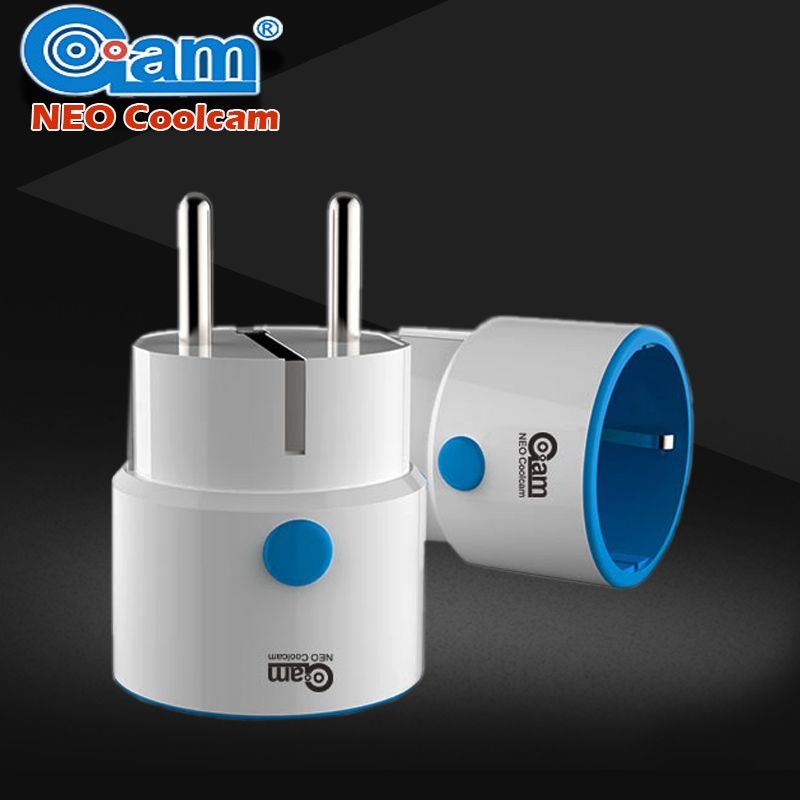 NEO COOLCAM Z-wave EU Smart Power Plug Socket Home Automation Alarm System home Compatible With Z-wave 300 And 500 Series