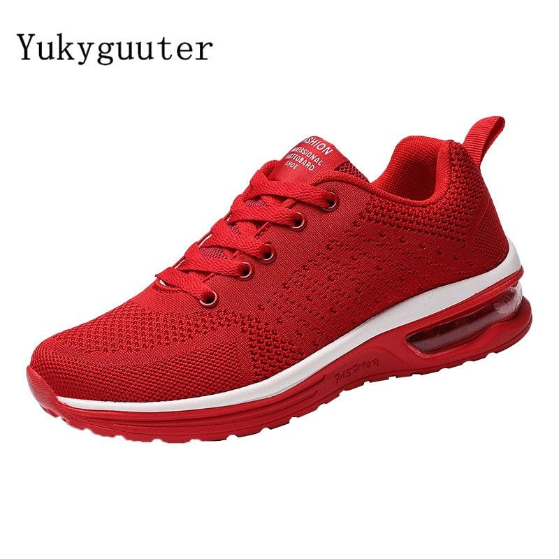 Sport Running Shoes Woman Outdoor Breathable Comfortable Couple Shoes Lightweight Athletic Mesh Sneakers Women Plus Size 35-47