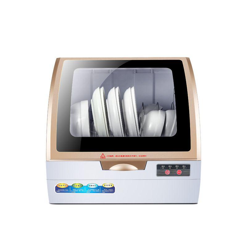 Neue Typ Voll Automatische Haushalts Spülmaschine Desktop Kleine Heizung Desinfektion Spray Spülmaschine Mini Waschmaschine