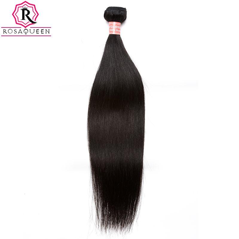 Malaisie Vierge Cheveux Raides 100% de Cheveux Humains Weave Bundles Extensions Naturel Noir Couleur 1 pièce Dolago Cheveux Produits