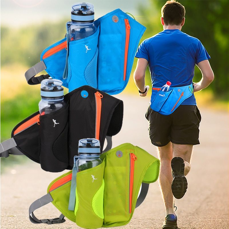 Waist Bags Running Sports Women Pack Pouch Belt Men Purse Mobile Phone Pocket Case Camping Hiking Sports Hot Sale Water Bottle