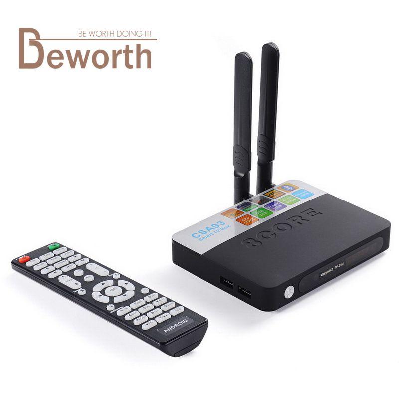 3GB RAM 32GB ROM Android 7.1 TV Box 2GB 16GB Amlogic S912 Octa Core CSA93 Streaming Smart Media Player Wifi BT4.0 4K TVbox VS Mi