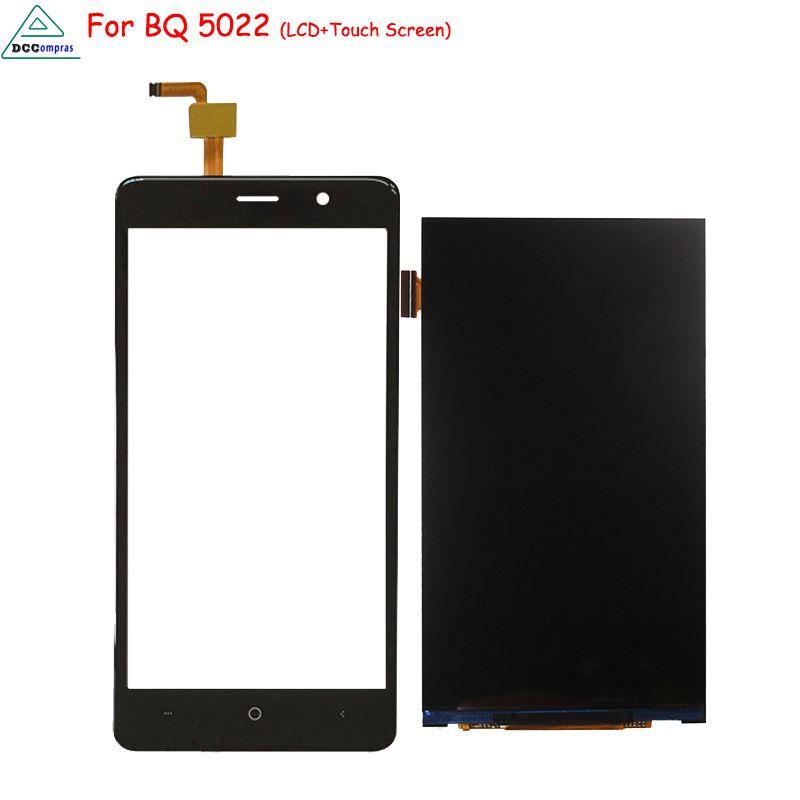 D'origine Pour BQ BQS 5022 LCD Affichage à L'écran Tactile Digitizer Pièces de Téléphone de l'assemblée pour BQS 5022 Écran LCD Affichage Livraison outils