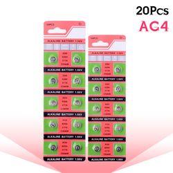 YCDC 20 PCS/lot 1.55 V Batterie AG4 SR626 377 LR626 LR66 SR66 SR626SW 377A Pile Bouton Regarder Coin G4 Batteries Pour Gadgets montres