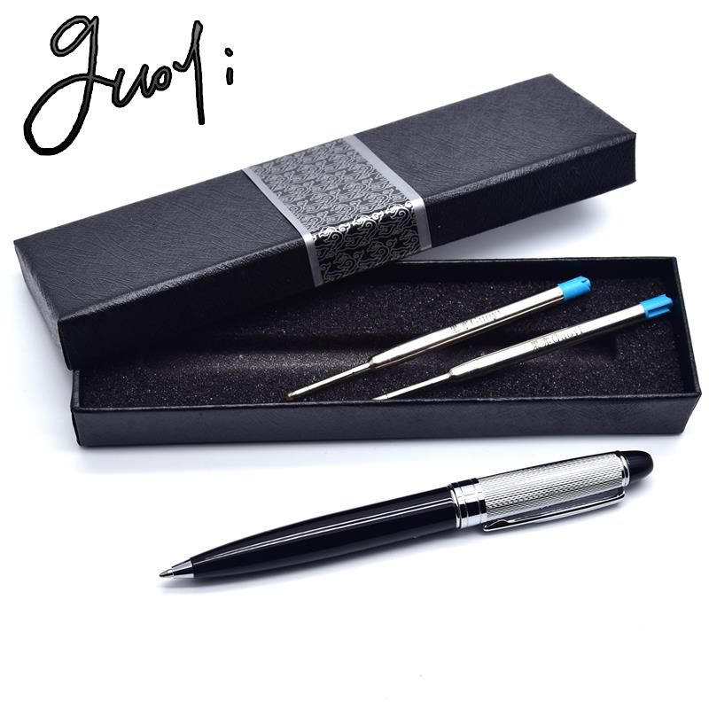 Guoyi Marke A199 Neue geschenke kupfer stift. Office & School Supplies metall-kugelschreiber, bleistifte und Schreiben Liefert Kugelschreiber