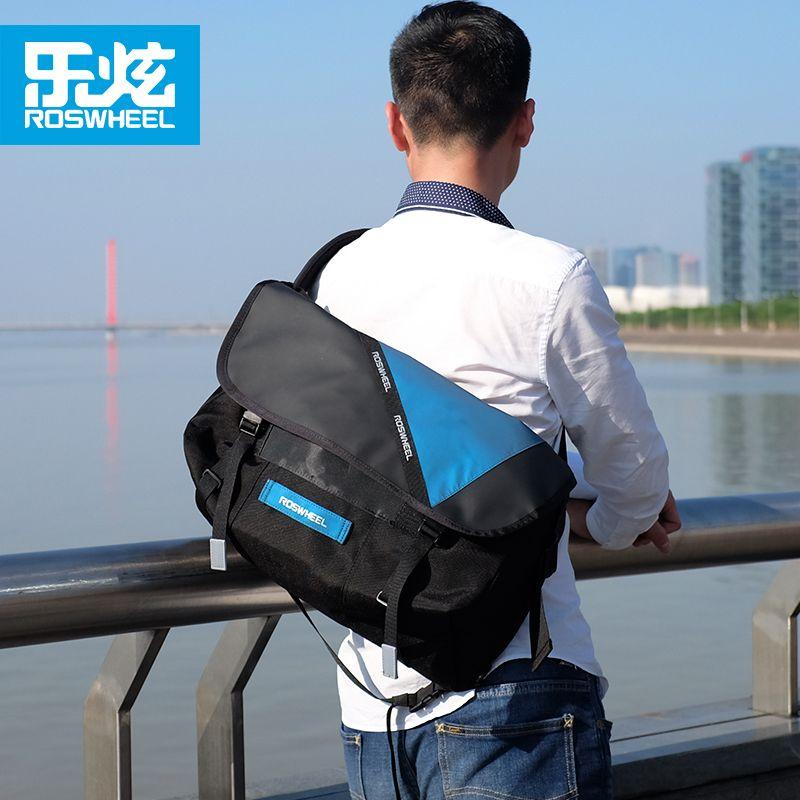 Roswheel outdoor sports fahrrad messenger bags fahrrad briefträger tasche radfahren tasche rucksäcke zubehör wasserdicht