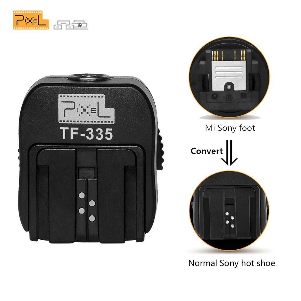 Pixel TF-335 convertir la chaussure Mi sans miroir en chaussure universelle pour Sony A7 A7 II A7S A7R en tant qu'adaptateur de chaussure chaude ADPMAA appareils photo numériques