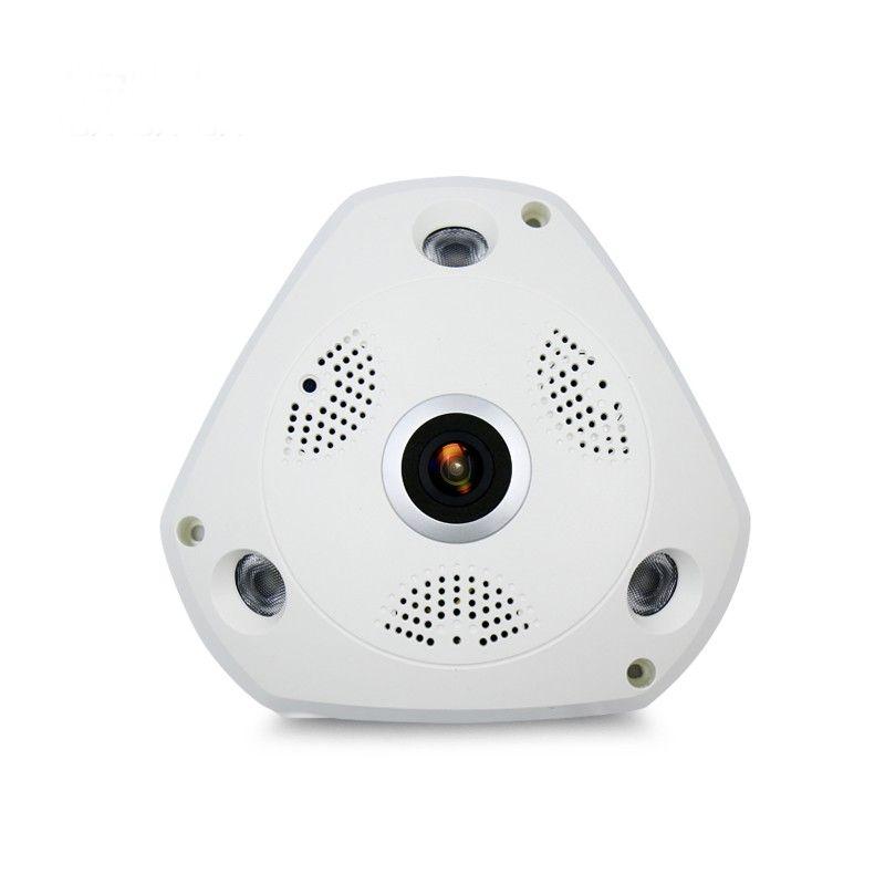 Wifi IP Large angle VR Caméra Sans Fil 5MP HD Smart 360 degrés Fishey panoramique Réseau Cctv Surveillance de La Maison Cam