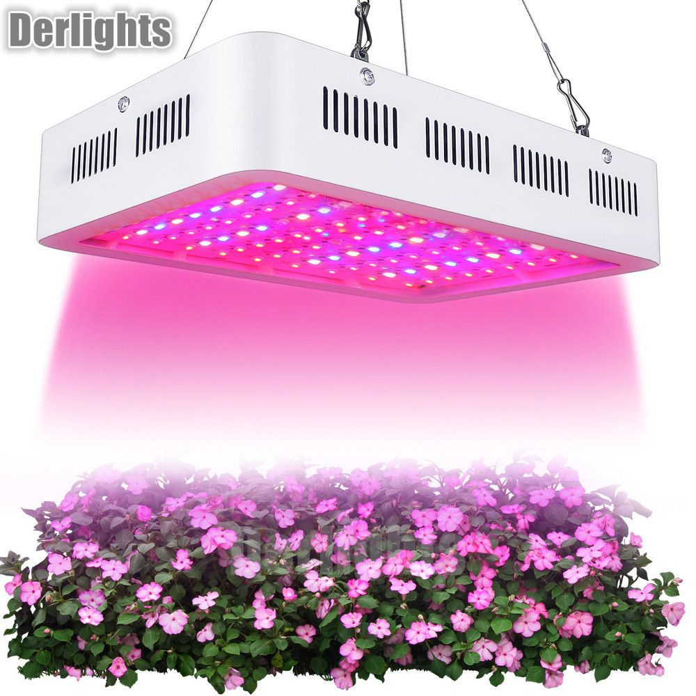 LED Grow Light 1000W Full Spectrum Plant Lamp for Indoor Greenhouse Grow Tent Plant Seeding Flowering Growing Growth Lamp